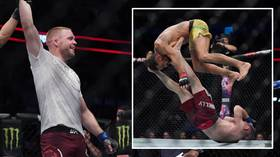 All for nothing: Showboater Michel Pereira dances, flips, jumps – and LOSES at UFC Vancouver (VIDEO)