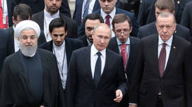 Erdogan hosts leaders of Russia & Iran as he pushes for border 'safe zone' in Idlib