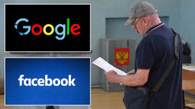Google & Facebook are meddling in Russia's affairs with political ads on election day – watchdog