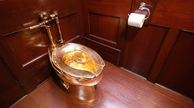 Sitting on a gold mine? Thieves steal £1mn toilet from UK palace