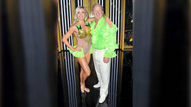 Spice of life: Former Trump Press Sec lights up Twitter with NEON green shirt on Dancing with the Stars