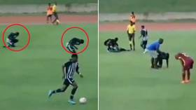 Jamaican college footballers struck by lightning during match (VIDEO)