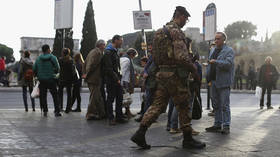 Italian soldier stabbed in throat by attacker who reportedly shouted 'Allahu Akbar'