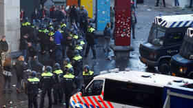 'Public disorder and violence': 100 Lille fans detained in Amsterdam ahead of Champions League clash with Ajax