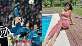 Cristiano Ronaldo says greatest goal he's ever scored doesn't beat sex with girlfriend Georgina Rodriguez
