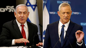 Netanyahu admits election results won't let him form government, calls on rival Gantz to unite
