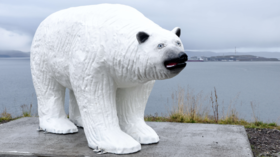 Bear with us: Beloved Hammerfest mascot gets horrifying makeover, locals laugh (PHOTOS)