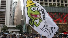 What the uncanceling of Pepe the Frog – just for HK protests, though – tells us about US media