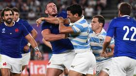 Tokyo tear-up: France and Argentina engage in 20-man brawl after final whistle at Rugby World Cup (VIDEO)