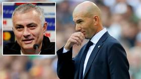 Pressure rises on Zinedine Zidane as fans vote for Jose Mourinho to replace him at Real Madrid