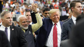 Howdy, Modi! Tens of thousands, including Trump, meet India's PM in Texas