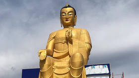 Europe's largest Buddha statue unveiled in Russia (PHOTOS)