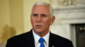VP Pence under fire for driving 8 huge SUVs across Michigan's carless island (VIDEO)