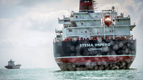 British-flagged tanker Stena Impero heads out of Iran waters – report