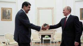 Maduro gives Simon Bolivar's SWORD to Putin, hits Red Square, hails cooperation with Russia (VIDEOS)