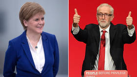 SNP's Sturgeon signals it's time to install Corbyn as caretaker PM to avert Bojo's no-deal Brexit
