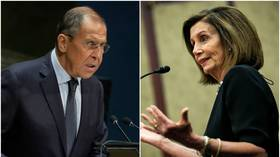 'Obvious paranoia': Lavrov responds to Pelosi claim Russia 'had a hand' in Trump-Zelensky impeachment scandal