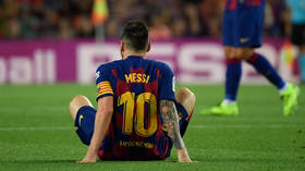 'It's a setback but we need to keep going': Barcelona anxious as Messi injury threatens to derail domestic campaign