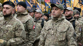 Rally marking the anniversary of the Ukrainian Insurgent Army and the Defender of Ukraine Day. © Sputnik / Stringer