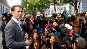 Kurz's OVP party set to win big in Austrian parliamentary election, while his right-wing ex-partners suffer setback