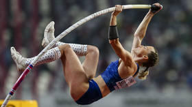 New queen of pole vault? Russian athlete Anzhelika Sidorova wins gold at IAAF World Championships