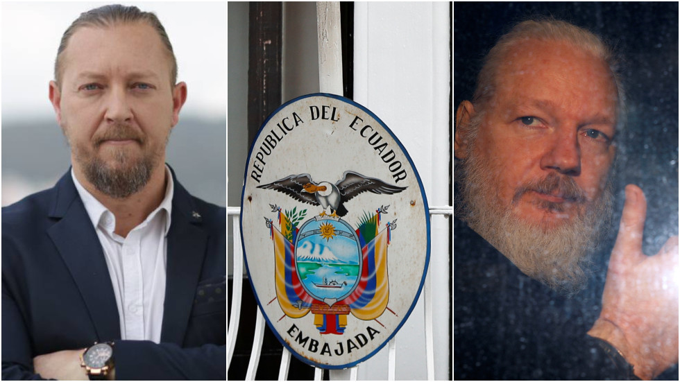Security firm at Ecuadorian embassy created 'profiles' on Russian & American visitors to Julian Assange, gave info to CIA – report