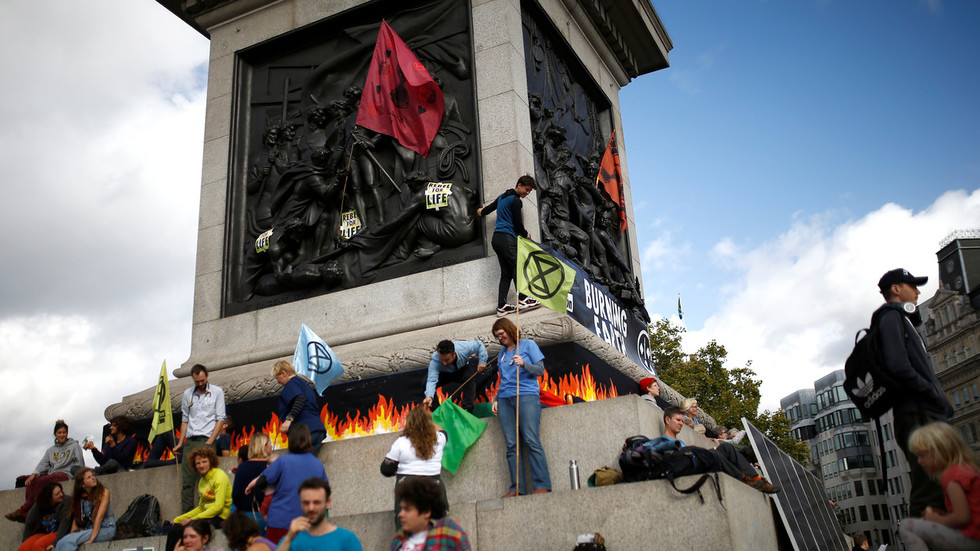 Who are Extinction Rebellion — the 'eco-activists' grounding planes & shutting down cities