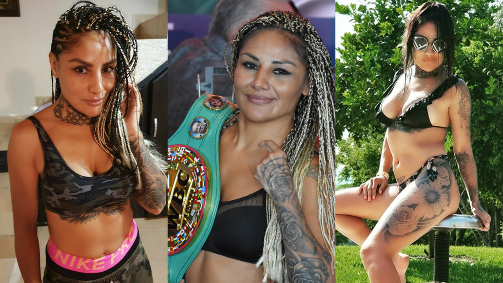Meet Mariana Juarez: The Mexican 'Boxing Barbie' ready for opponent to 'blow her head' in 10th straight  world title fight