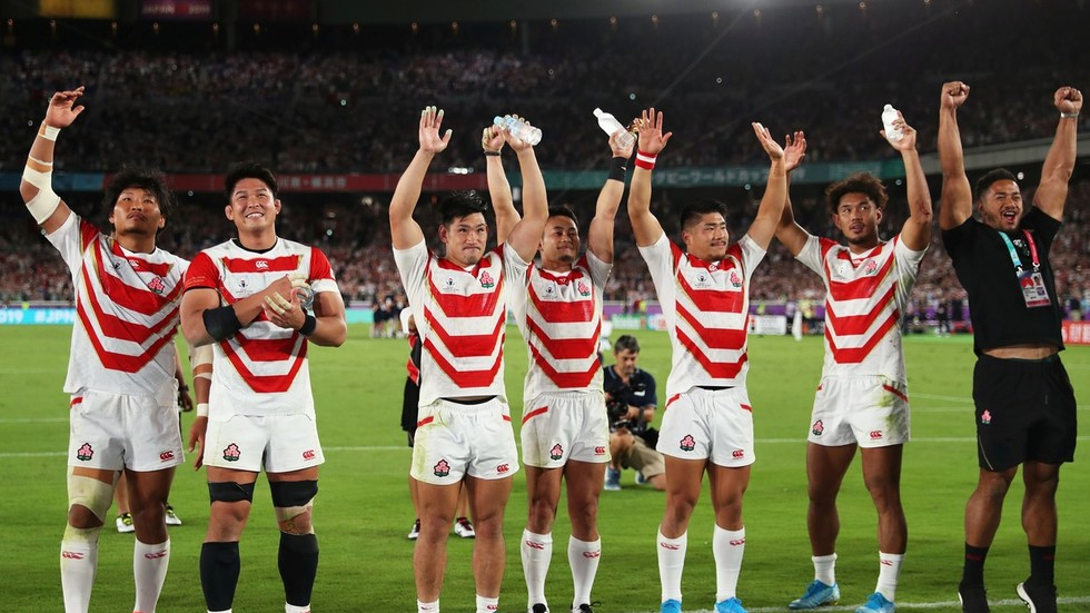 'More than just a game for us': Victorious Japan dedicate stunning Rugby World Cup win to victims of Typhoon Hagibis