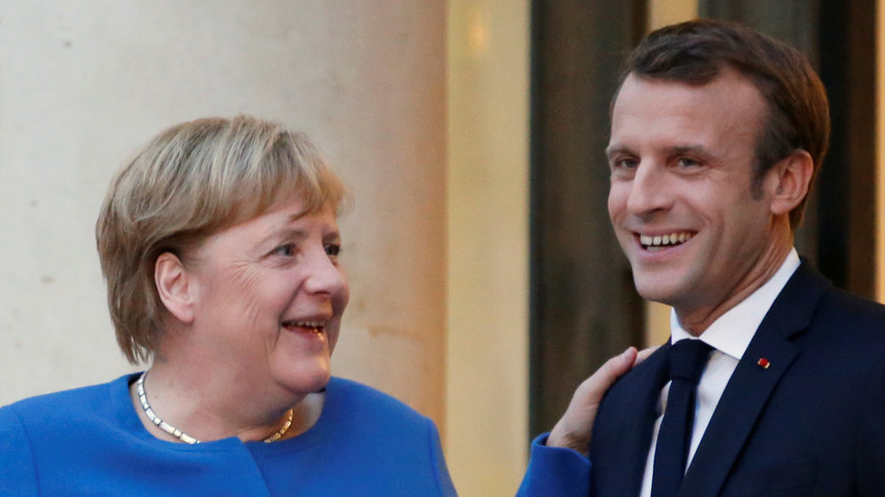 Macron, Merkel meet to discuss Brexit, Syria before EU summit