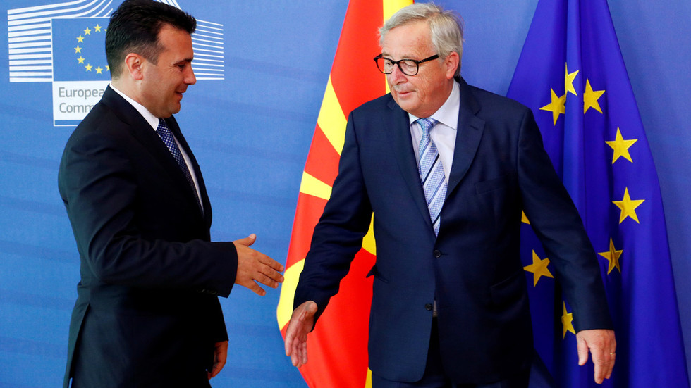 EU ministers fail to agree on talks with Albania, N. Macedonia