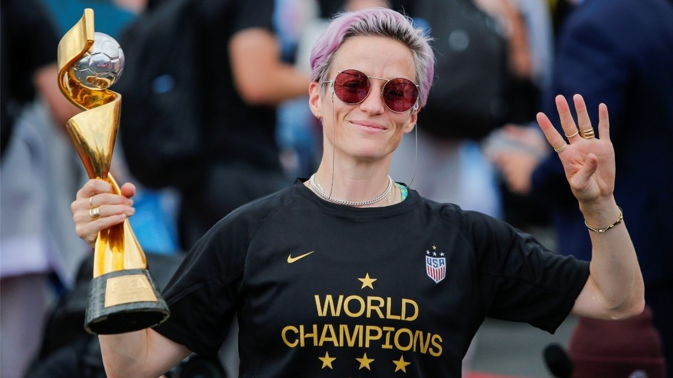 Fight for the right: Megan Rapinoe says US women players are ready for a legal fight over equal pay