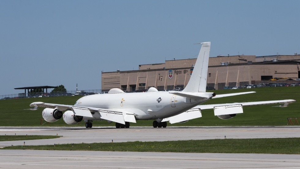 No birds allowed in this nuclear apocalypse: US Navy 'doomsday' aircraft grounded by bird strike