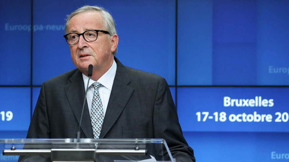 'Proud for having served Europe': Juncker makes emotional farewell speech during his final European Council summit