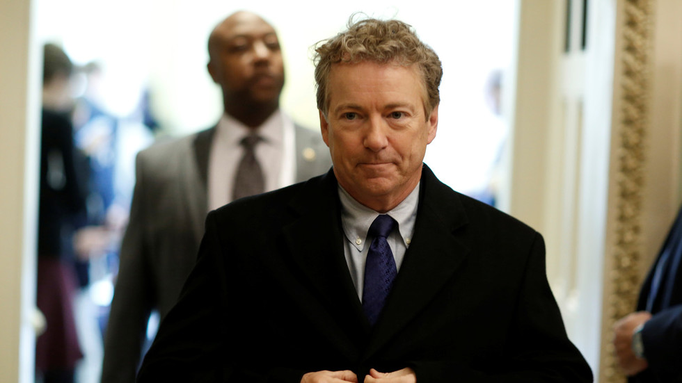 'Not putting up with your Republican bulls**t!': Angry liberals accost Rand Paul