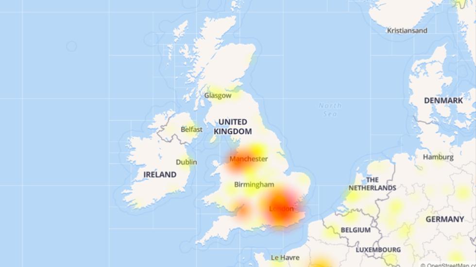Brexit overload? Twitter down in major UK cities as MPs debate BoJo's EU withdrawal plan