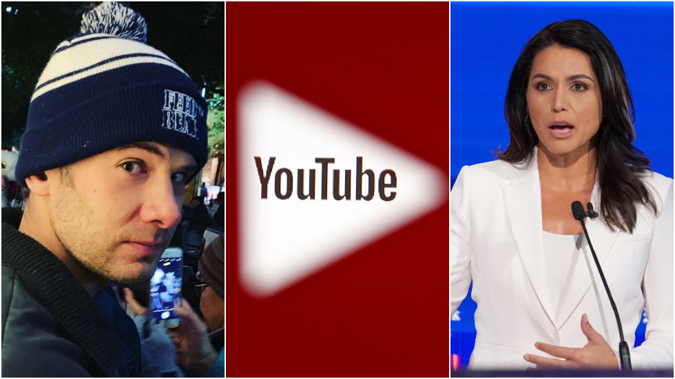 Comedian Steven Crowder says YouTube suppressed Tulsi Gabbard search results during Hillary Clinton 'foreign asset' row