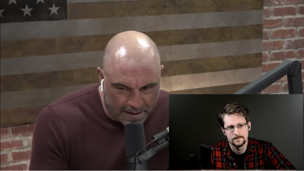 Opposing mass surveillance IS patriotic: Edward Snowden opens up about gov't spying programs on Joe Rogan show
