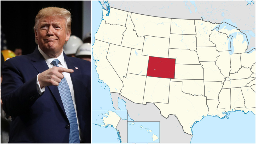 'Make New Mexico pay for it!' Twitter baffled after Trump vows to build wall in Colorado
