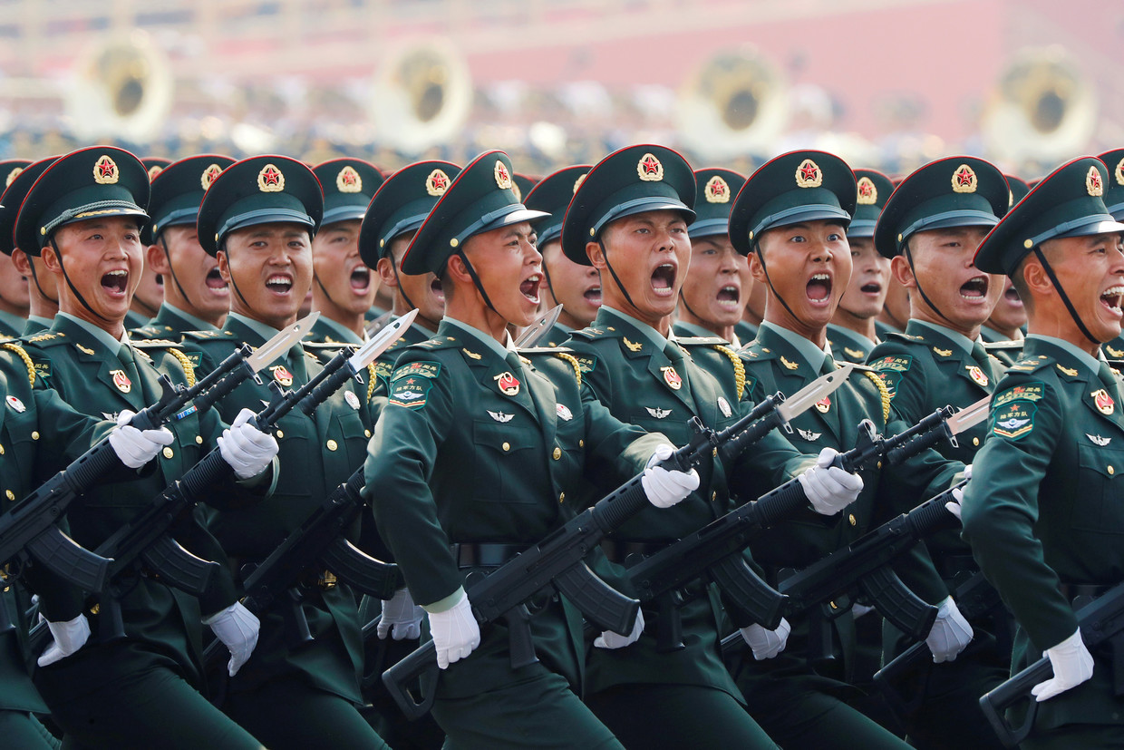 China celebrates 70 years of communism as Hong Kong seethes