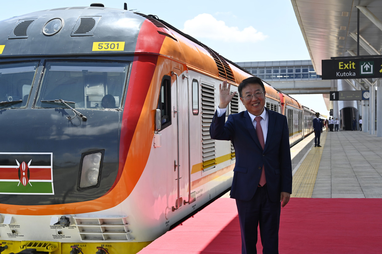 New Silk Road: Kenya's massive $1.5bn railway funded & built entirely by China (PHOTOS, VIDEO)