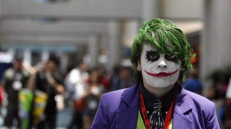 'Why so serious?' indeed... © Reuters / Mario Anzuoni
