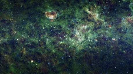 A section of the Milky Way galaxy is pictured in this NASA handout received by Reuters January 10, 2012. © REUTERS/NASA