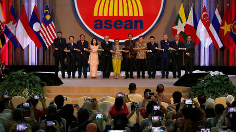 Inauguration of the new ASEAN Secretariat Building in Jakarta, Indonesia, August 8, 2019.