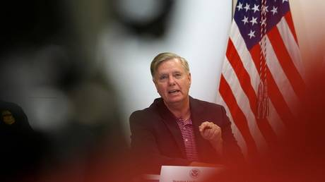Senator Lindsey Graham (R-South Carolina) July 12, 2019 file photo.