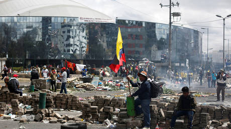 Don't fall for beleaguered government's line: Crisis in Ecuador is just getting started