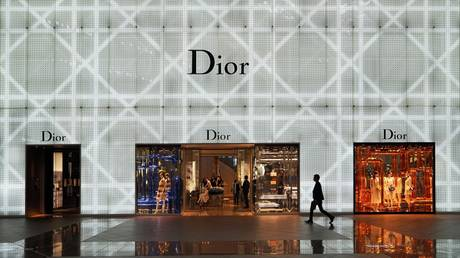 FILE PHOTO: Dior boutique at the Taipei 101 Mall, China © Global Look Press / Daniel Kalker