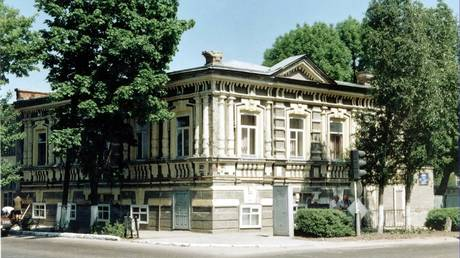 A building in Yeysk, where the handicapped children's shelter was located in 1942-1943. Archive photo courtesy of FSB's Krasnodar branch