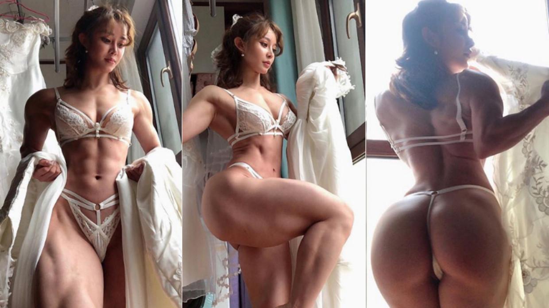Asian Female Bodybuilder Porn just a hobby': chinese female bodybuilder speaks on viral