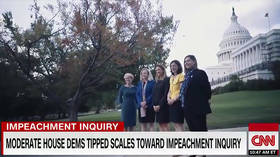 'Coded racist rhetoric'? CNN under fire for crediting group of white congresswomen with Trump impeachment inquiry